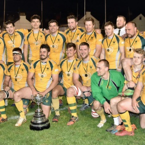 Plymstock Albion Oaks claim trophy double at the Rectory