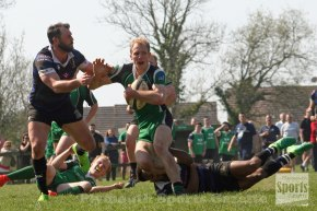 RUGBY REPORTS: Watts hat-trick helps Ivybridge beat champions Dings and secure their leaguestatus