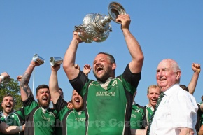 GALLERY: Ivybridge lift Devon Senior Cup for the first time in their history