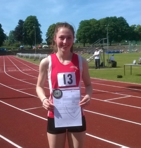 Plymouth's Bee earns international call after claiming silver at English Schools' Champs
