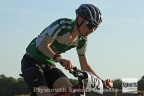 Flyers' Allen and Andrews impress at latest South West Cycle Cross Seriesevent