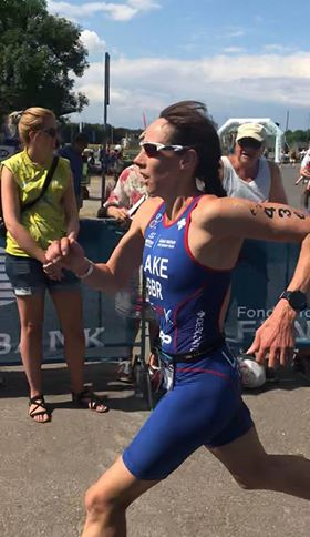 Lake wins a bronze medal at ITU Aquathlon World Championships in Denmark