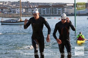 GALLERY: Hutchens overcomes the challenge of Shaw to win Plymouth Triathlon