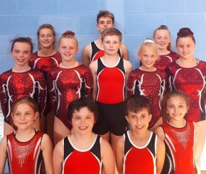 City of Plymouth Gymnastics Club members enjoy success in reaching majorchampionships