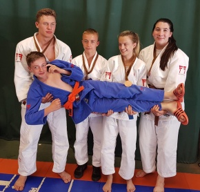 Judo club makes their mark in Walsall, Cardiff andSarajevo