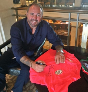 Wales and British Lions star Quinnell shows his support for Sunday's Paul Lethbridge MemorialDay