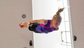 Millbrook youngster is aiming high in trampolining