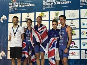 Tavistock athletes win medals at ETU Aquathlon European Championships inIbiza