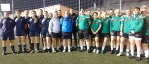 Argyle Ladies boosted by visit of Adams ahead of cup match