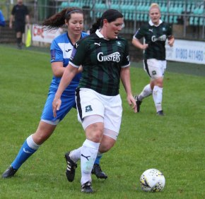 Bad day for Plymouth Argyle Ladies as they lose 4-0 at home to Loughborough Foxes