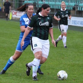 Argyle Ladies bag another eight goal in their second pre-season match