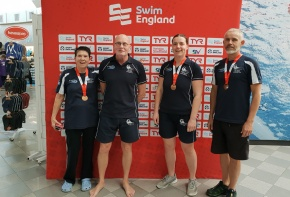 Caradon pick up four medals at National Masters Champs while Thorp receives volunteeraward