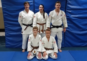 Young judo stars earn selection for nationalprogrammes
