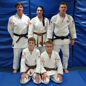 Young judo stars earn selection for national programmes