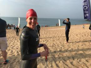 Tavistock triathlete claims top award from sport's governing body