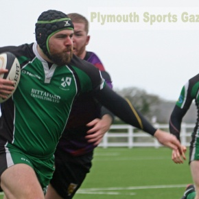 RUGBY REPORTS: Pinkus scores a hat-trick as Ivybridge return to winning ways
