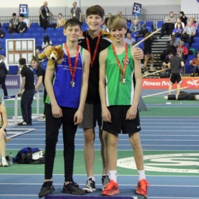 Jones smashes his PB to win bronze medal at England U15Champs