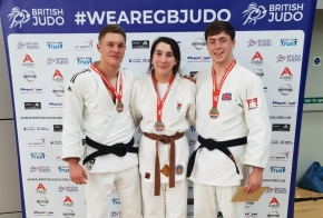 Young trio selected for GB Judo programmes