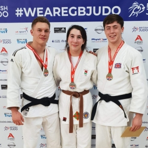 Young trio selected for GB Judoprogrammes