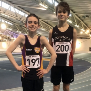 Tavistock's Maczugowski moves to the top of the UK rankings after winning Lee Valley pentathlon