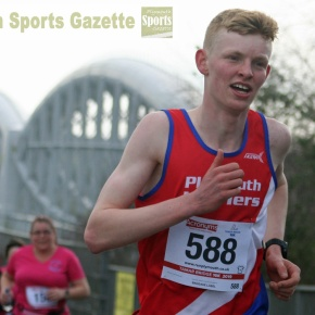GALLERY:  Harriers youngster Yearling wins inaugural Tamar Bridge 10k