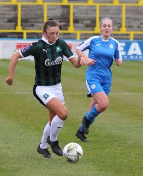 Argyle Ladies overcome tough conditions at Canvey Island to claim third straightwin