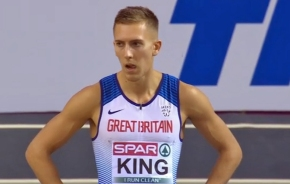 King misses out on reaching European Indoor Championshipfinal