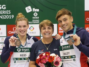 Daley delighted with double medal haul on final day of FINA World Series event inJapan