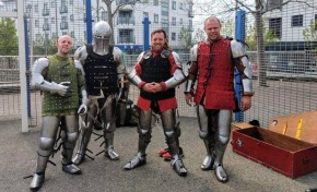 Medieval combat fighting is growing inPlymouth
