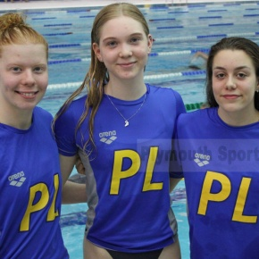 Plymouth Leander trio enjoy a successful return to competitive action