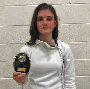 Plymouth College's Black enjoys successful start to her fencingseason