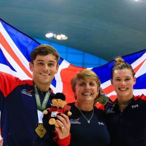 Daley wins mixed synchro gold with Reid at World Series inLondon