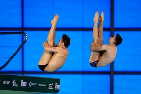 Daley and Lee break British record to claim World Series gold in London