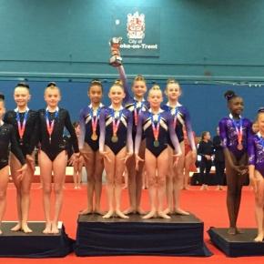 Plymouth Swallows gymnastics win medals at British NationalFinals