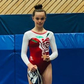 Piper wins bronze medal on her debut for England at Frivolten Cup in Sweden