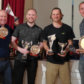 Pinhey among the winners as snooker league celebrates successful season