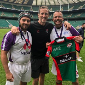 Tamar Saracens duo loved their Twickenham playing experience