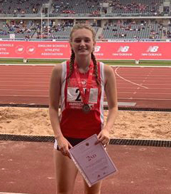 Tremendous showing from the region's athletes at the English Schools' Track & FieldChampionships