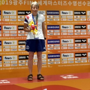 Kula-Przezwanski ends World Masters Champs with another gold medal