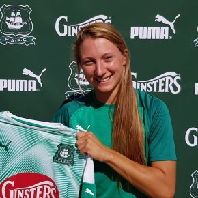 Double boost for Argyle Ladies as Jackson signs and club announce Home Park match