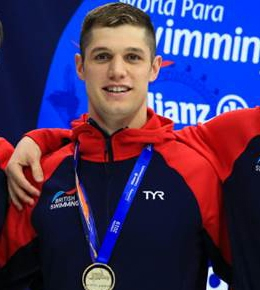 Leander's Dunn wins second gold medal at World Para SwimmingChampionships