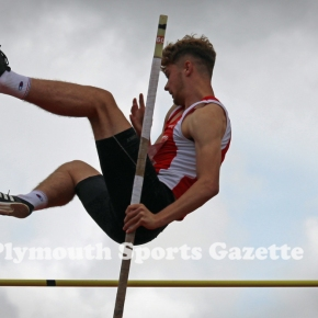 GALLERY: West Devon trio impress at English Schools' Combined Events Championship
