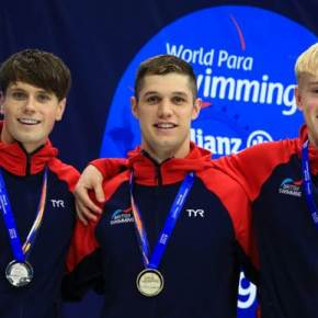 Dunn destroys his own record to win gold at World Para SwimmingChamps