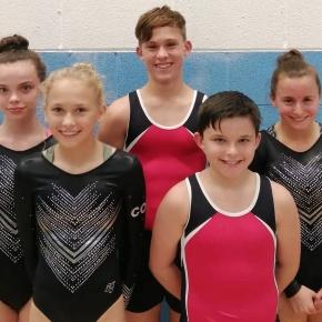 City of Plymouth Trampoline Club enjoy success at English Championships inSheffield