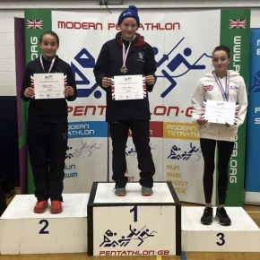 Purnell and Denton among the medals at the British Modern Biathlon Champs