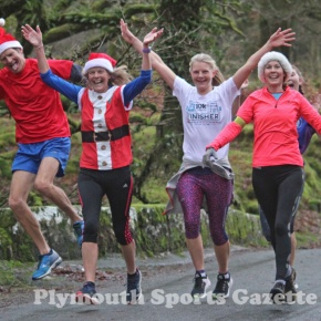 GALLERY: Pictures from the annual Jingle Bell Jog around Burrator