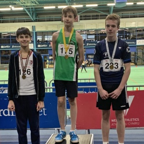 City of Plymouth athletes win South West indoor medals in Cardiff