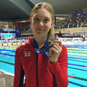 SWIMMING: Leander's Osrin makes her mark at Luxembourg EuroMeet