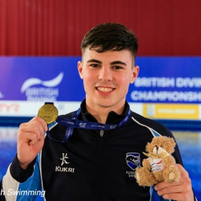 Plymouth diver Dixon wins bronze medal at FINA Grand Prix in Rostock