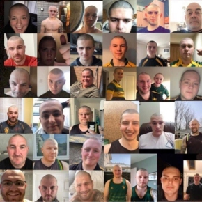 Lockdown rugby head shave raises more than £13,000 for NHS